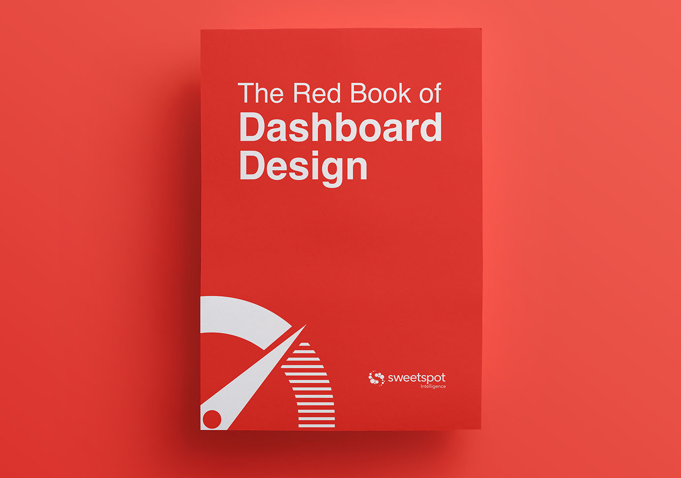 Book Cover Design Book ~ Sweetspot the red book of dashboard design
