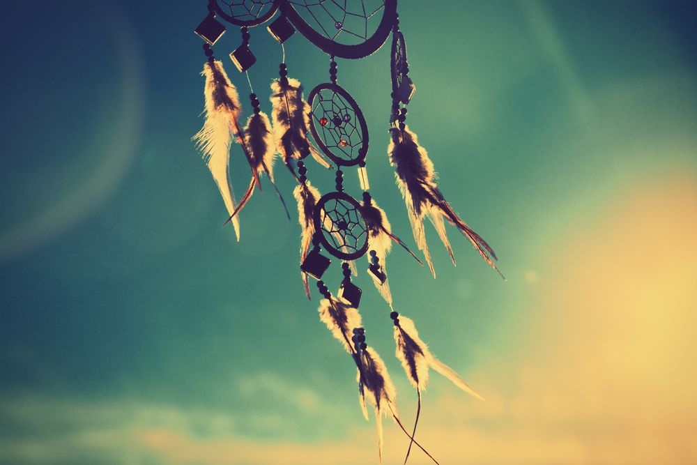 dream catcher in the wind
