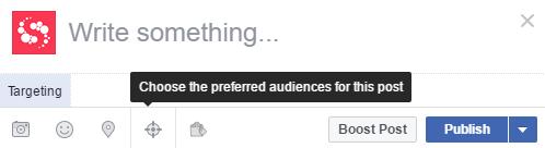 facebook publishing tools screenshot