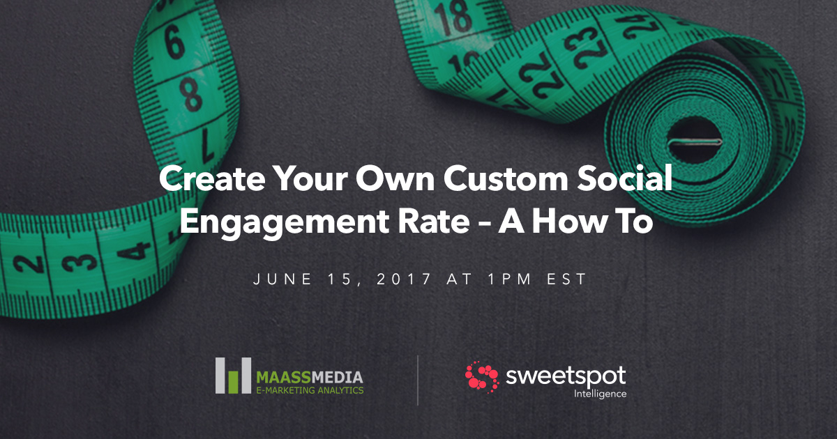 Create your own custom engagement rate webinar annoucement