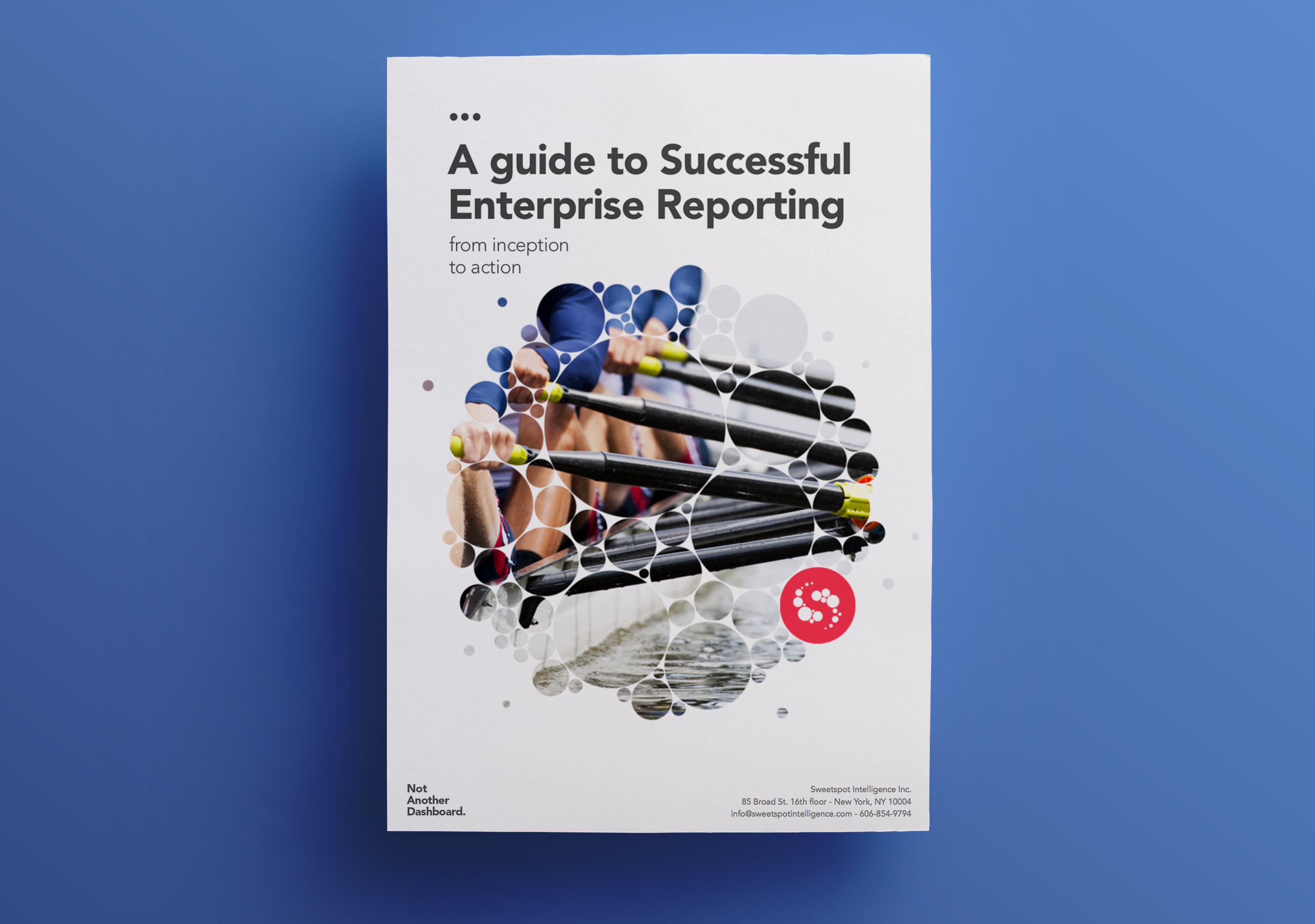Book cover of a guide to successful enterprise reporting