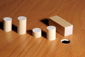 square peg trying to go into a round hole